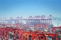 container terminal closeup - PhotoDune Item for Sale