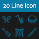 Music Instrument - Line Icon