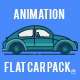 Animation Flat Car Pack - VideoHive Item for Sale