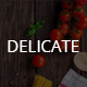 DELICATE |  Multipurpose cafe - shop - ThemeForest Item for Sale