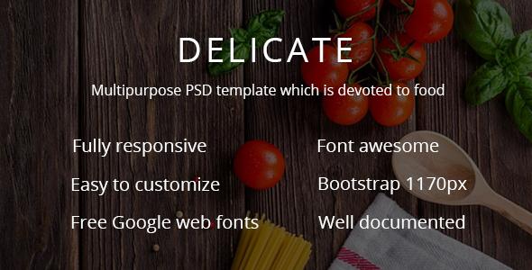 DELICATE |  Multipurpose cafe - shop