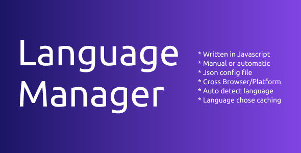 LanguageManager - CodeCanyon Item for Sale