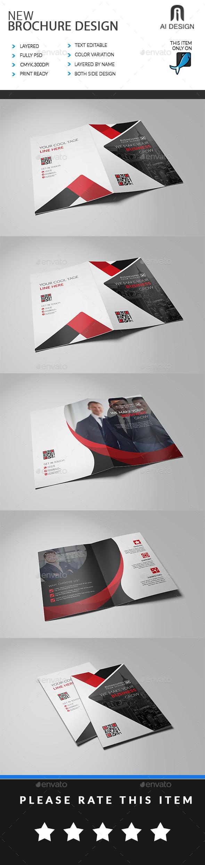 Bi Fold Brochure Bundle - Brochures Print Templates