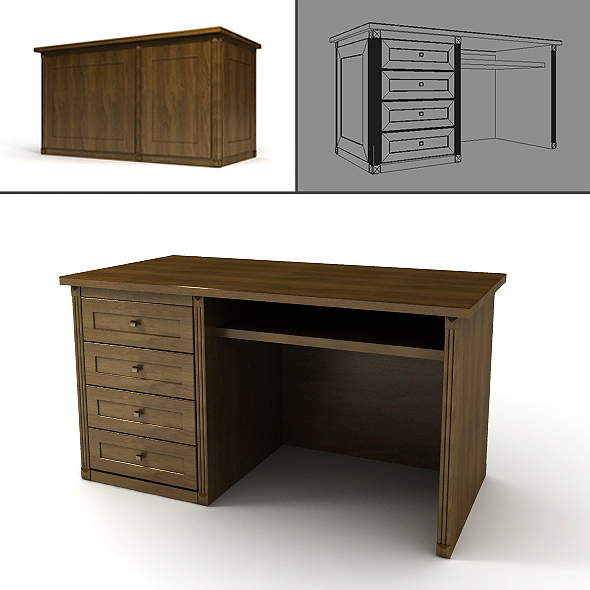 3DOcean Desk 20649753