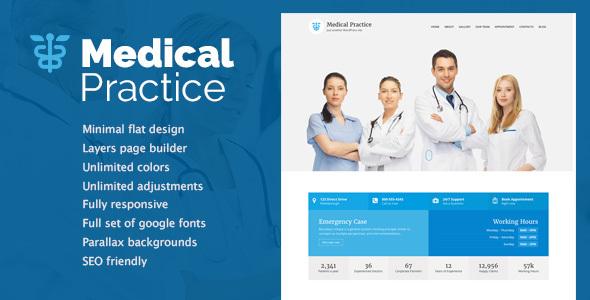 Medical Practice - Health & Clinic theme by neuethemes [20335990]
