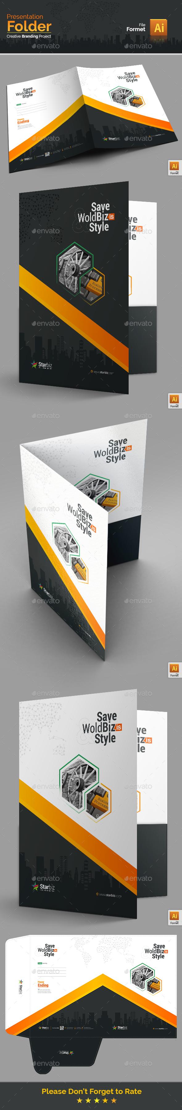 GraphicRiver Presentation Folder 20649899
