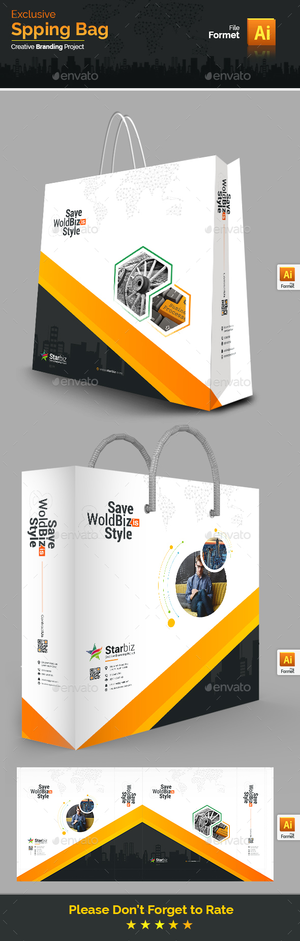 GraphicRiver Shopping Bag 20649940