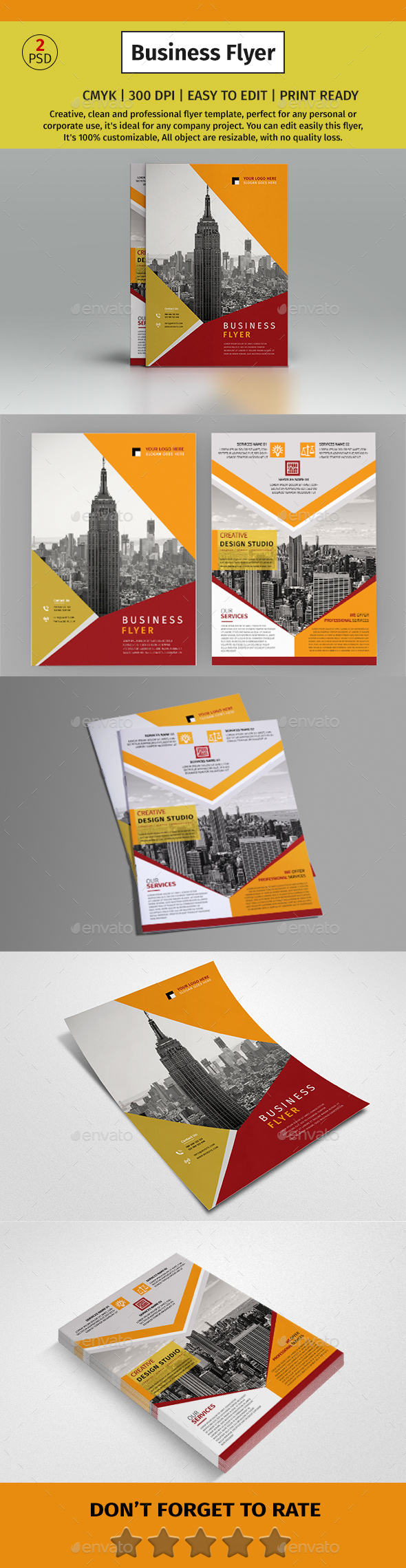 A4 Corporate Business Fyer #82 - Corporate Flyers