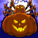 Pumpkin and Spider Cartoon - GraphicRiver Item for Sale