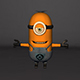 Minion 3D Model Design - 3DOcean Item for Sale