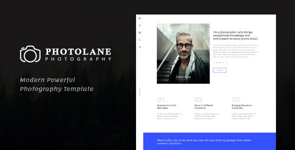 Image of Photolane | Photography HTML Template for Photographers