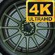 Car Tire 4k Looped