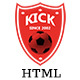 Kick || Football Club HTML5 Template - ThemeForest Item for Sale