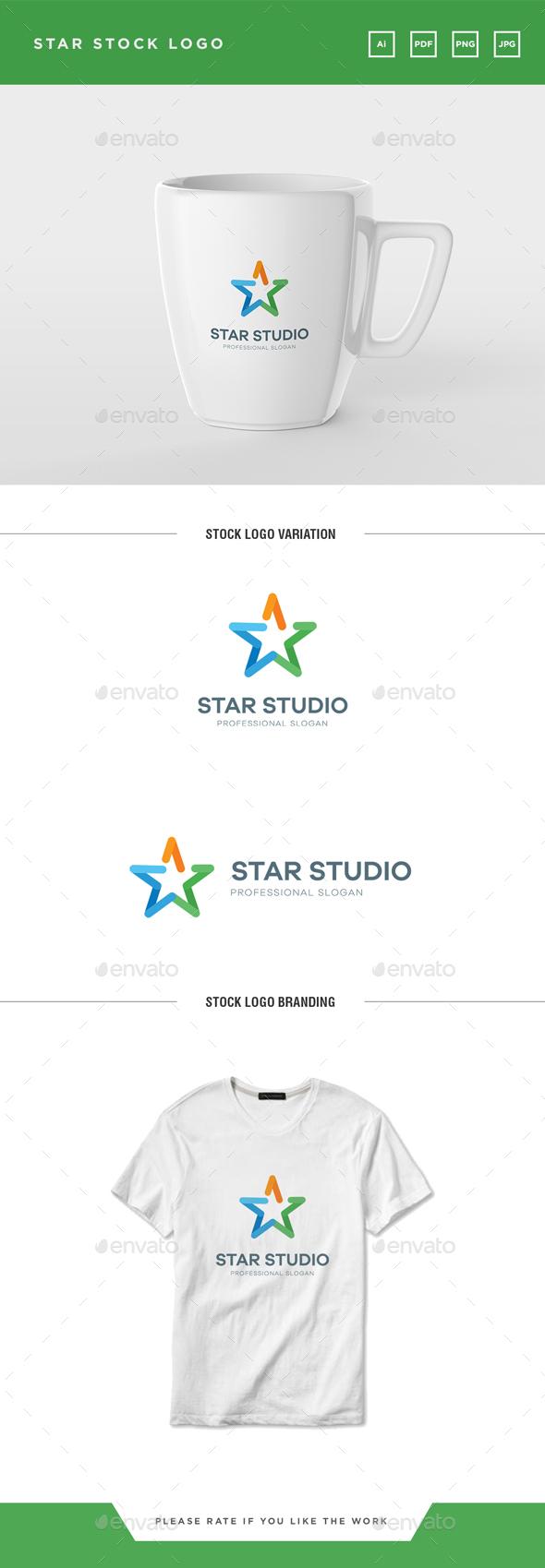 GraphicRiver Star Logo 20650532