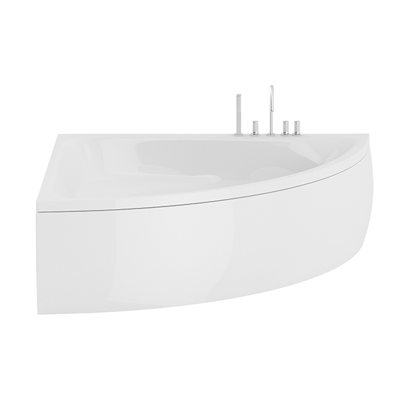 3DOcean Corner Bathtube 20650662