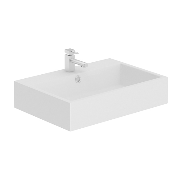 Rectangular Washbasin - 3DOcean Item for Sale