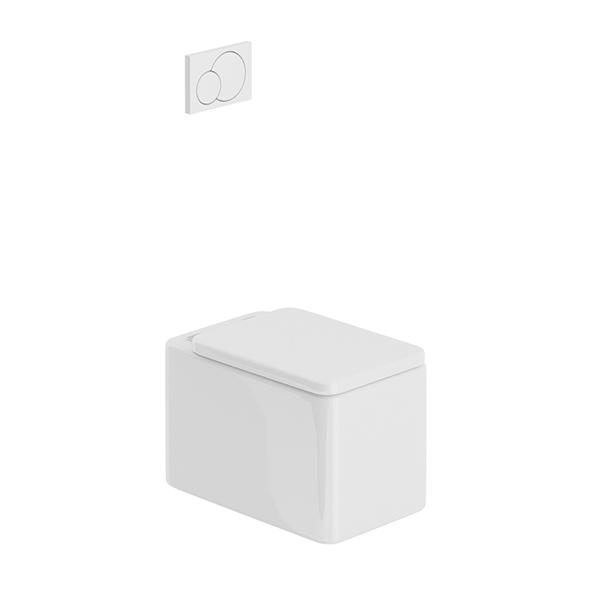 3DOcean Rouded Toilet 20650765