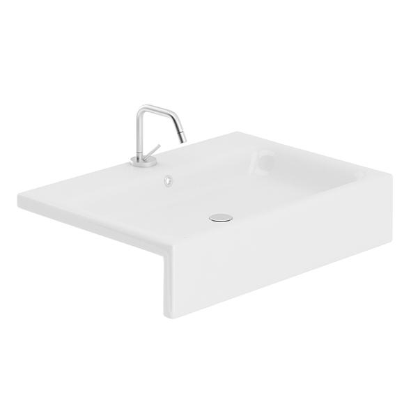 Rectangular Washbasin - 3DOcean Item for Sale