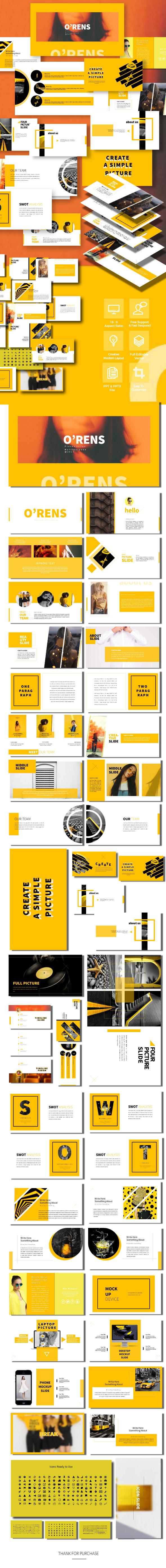 GraphicRiver O'rens Presentation Templates 20650817