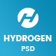 Hydrogen - Corporate & Business Website Psd Template