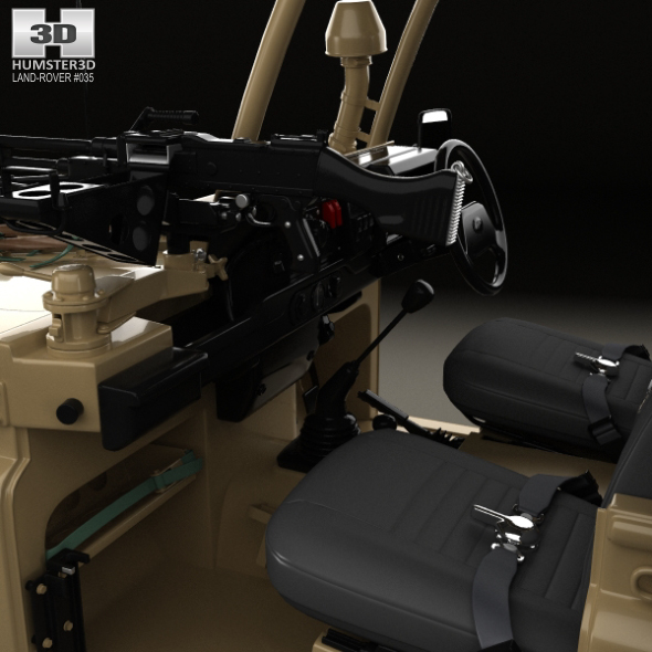 Land Rover Defender RWMIK With HQ Interior 2014 By