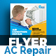 Air Conditioner Repair Service Flyer