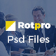 Rotpro - Corporate PSD Template