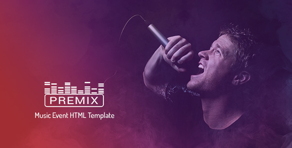 Premix - Music Event HTML5 Template
