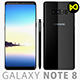 Samsung Galaxy Note 8 Midnight Black - 3DOcean Item for Sale