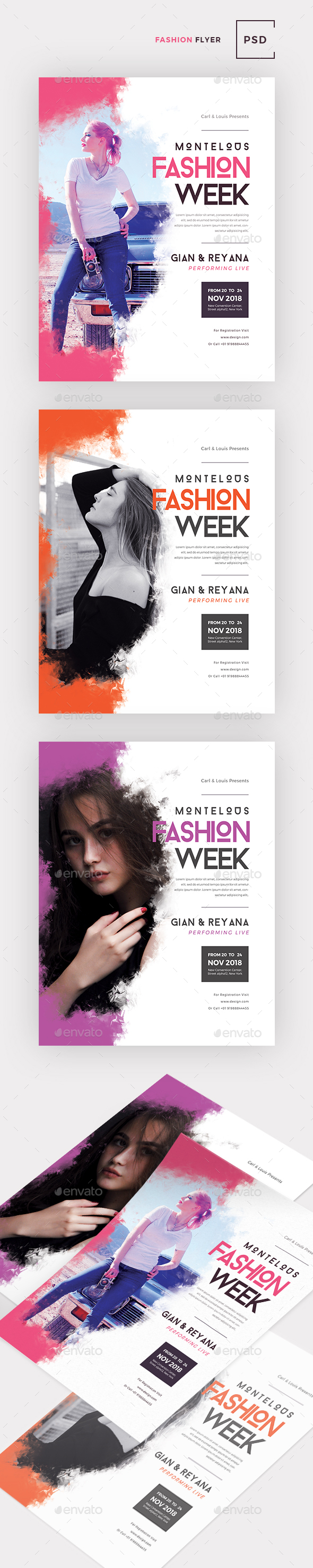 Fashion Week Flyer - Events Flyers