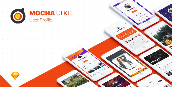 Profile UI Kit - Sketch Templates