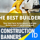 Construction. business, building  ADS Banners - GraphicRiver Item for Sale