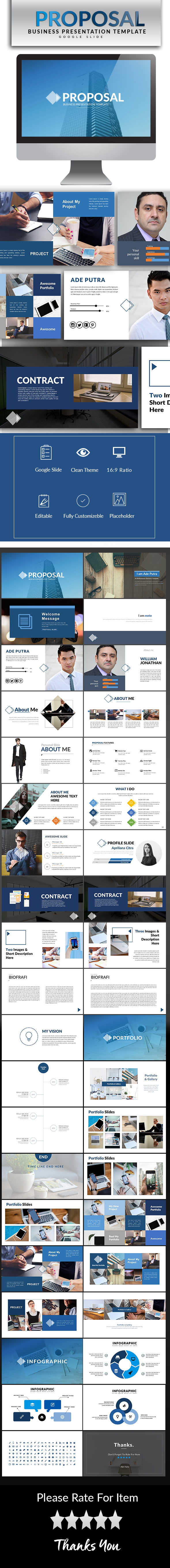 GraphicRiver Proposal Google Slide Template 20652324