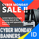 Cyber Monday Banners - GraphicRiver Item for Sale