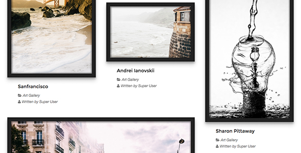 Art Gallery - TZ Portfolio+ Gallery - CodeCanyon Item for Sale