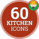 Kitchen Cooking Food Cook Animation - Flat Icons and Elements - VideoHive Item for Sale