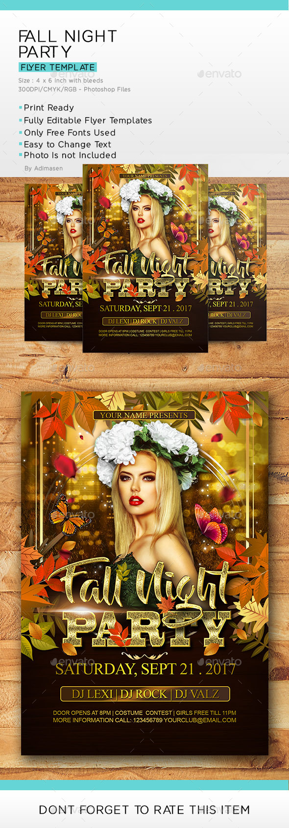 Fall Night Party - Clubs & Parties Events