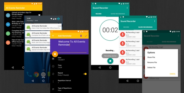 CodeCanyon Sound Recorder & Todo App 20652673