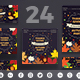 Thanksgiving Party Social Media Pack - GraphicRiver Item for Sale