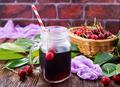 cherry and juice