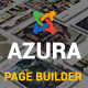 Azura - Responsive Joomla Page Builder - CodeCanyon Item for Sale