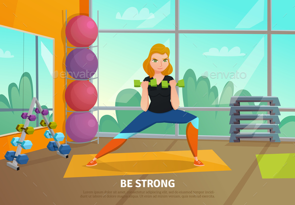 GraphicRiver Healthy Lifestyle Poster 20653073