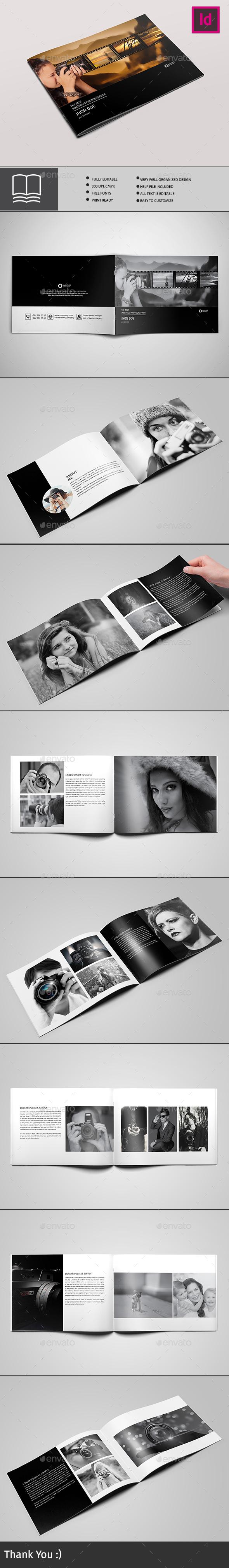 Photography Album Template - Catalogs Brochures