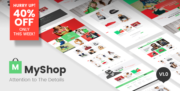 MyShop - Multipurpose WordPress WooCommerce theme