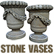 Park Stone Vases - 3DOcean Item for Sale