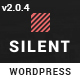 Silent - One Page Multipurpose WordPress Theme
