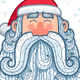 Santa Portrait 2 - GraphicRiver Item for Sale