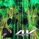 Led Green VJ Animation