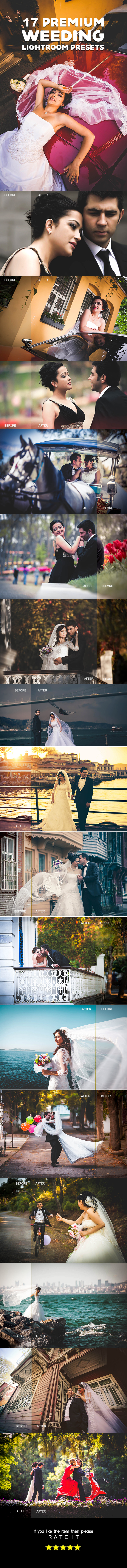 GraphicRiver Premium Wedding Lightroom Presets 20654012