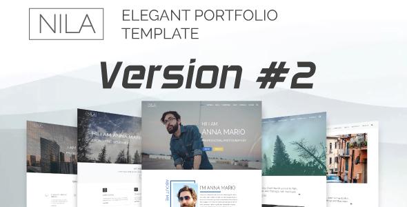 Nila - Elegant Portfolio Template - Portfolio Creative